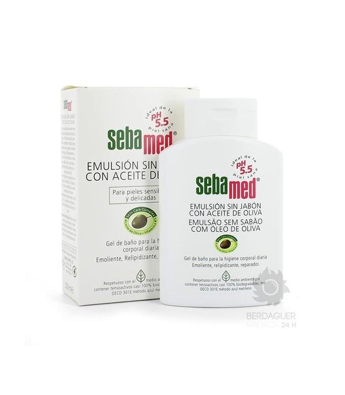 Sebamed Emulsion Sin Jabon Con Aceite De Oliva 2 L
