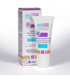 Letisr Crema Antirojeces C/Color 40 Ml