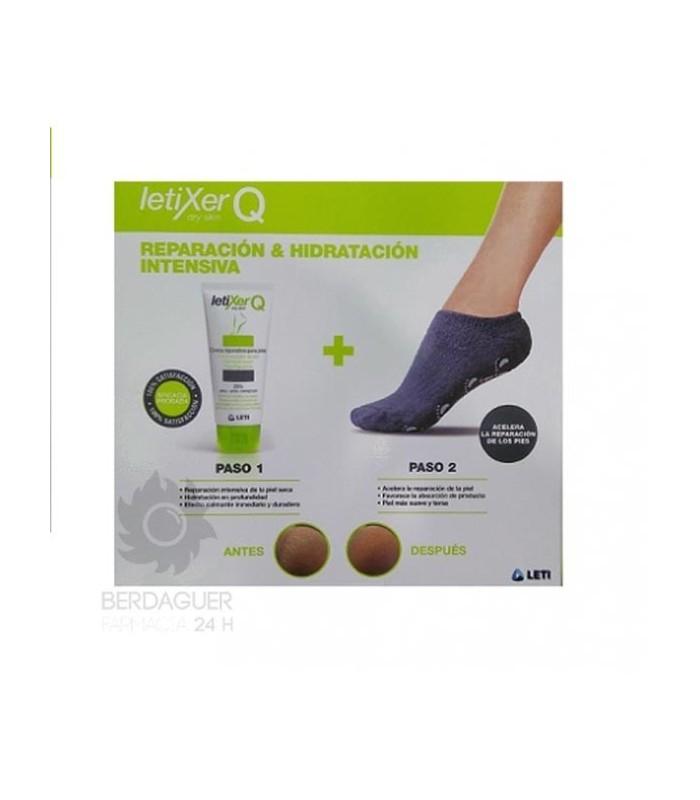 Letixer Q Pack Dry Skin + Calcetin