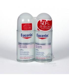 Eucerin Pack Desodorante P.Sensible 2ªU-50%