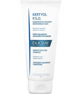 Ducray Kertyol P.S.O. Champu Tratante Queratorreductor 125 Ml