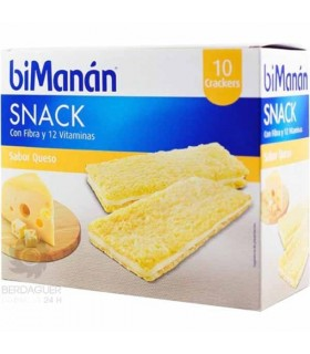 Bimanan Entre Horas Crackers De Queso 10 U 200 G