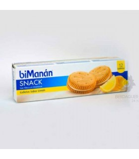 Bimanan Galletas Limon Snack 12 U 220 G