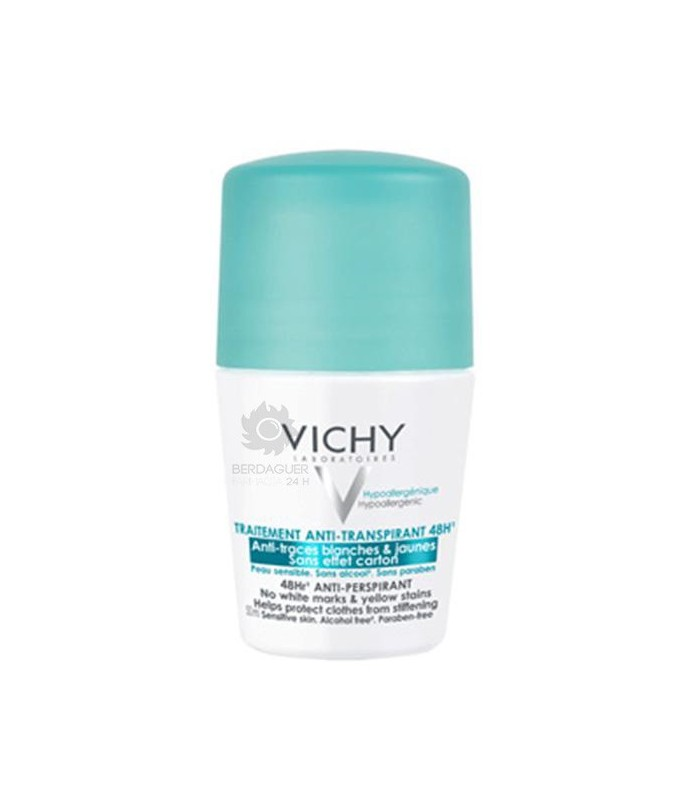 Vichy Desodorante Antitraspirante Roll-On 48 Horas 50 Ml