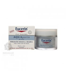 EUCERIN AQUAPORIN ACTIVE CREMA HIDRATANTE FPS 25