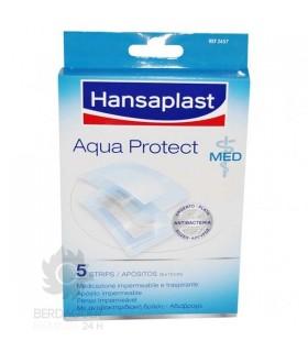 Aposito Esteril Hansaplast Med Aqua Protect 8 X 10 Cm