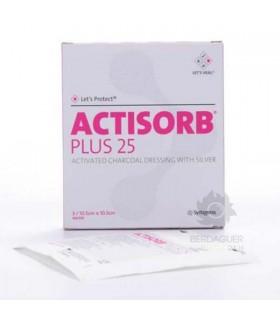 Aposito Esteril Actisorb Plus 25 /10,5 X 10,5 Cm