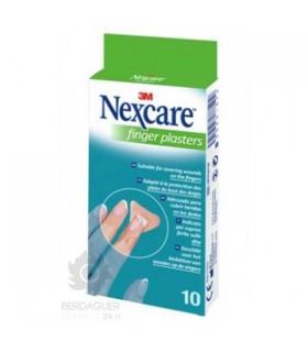 3M Nexcare Finger Plasters Aposito Adhesivo 10 Tiras
