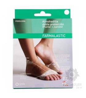 Farmalastic Almohadilla Doble Proteccion Talla Mediana
