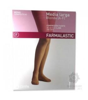 Farmalastic Media Larga Compresión Fuerte