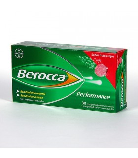 BEROCCA PERFORMANCE FRUTOS ROJOS 30 COMP EFERV
