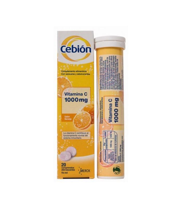 CEBION 1000MG EFERVESCENTE 20C