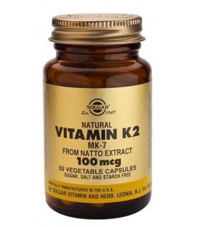 Solgar Vitamina K2 100 Mg 50 Capsulas
