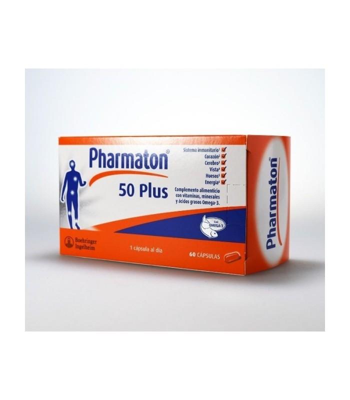 Pharmaton 50+  60 Capsulas