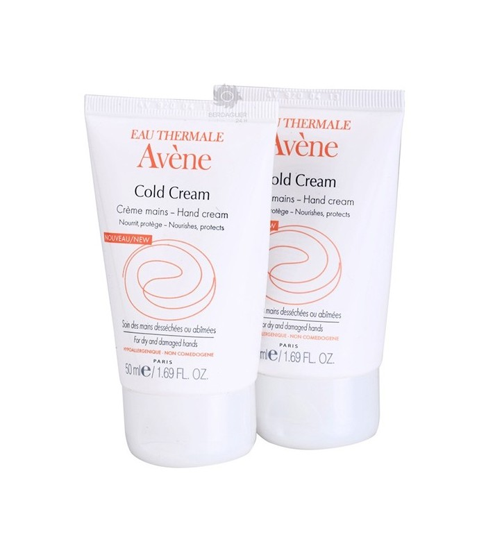Avene Cold Cream Crema De Manos 2 X 50 Ml