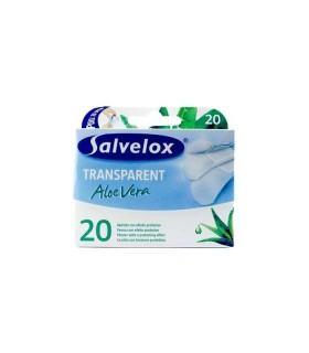 Salvelox Aposito Adhesivo Aloe Vera Transp 20 Apositos