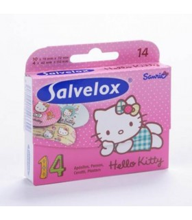 Salvelox Aposito Adhesivo Hello Kitty 14 U