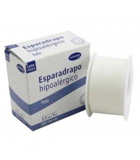 Esparadrapo Tela Imperial Blanco 5M X 2,5 Cm