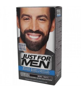 JUST FOR MEN BIGOTE BARBA NEGRO