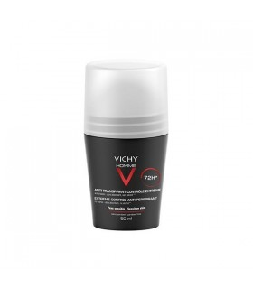 Vichy Homme Desodorante En Bola 72 H Roll On 50 Ml