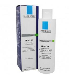 Kerium Champu Tratante Caspa Grasa Microexfoliante