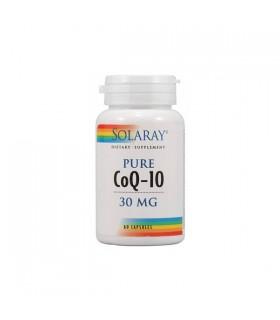 Solaray Pure Co-Q10 30 Capsulas 30 Mg