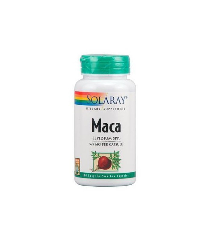 Solaray Maca 5 100 Capsulas 25 Mg