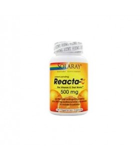 Solaray Reacta-C 60 Capsulas 500 Mg