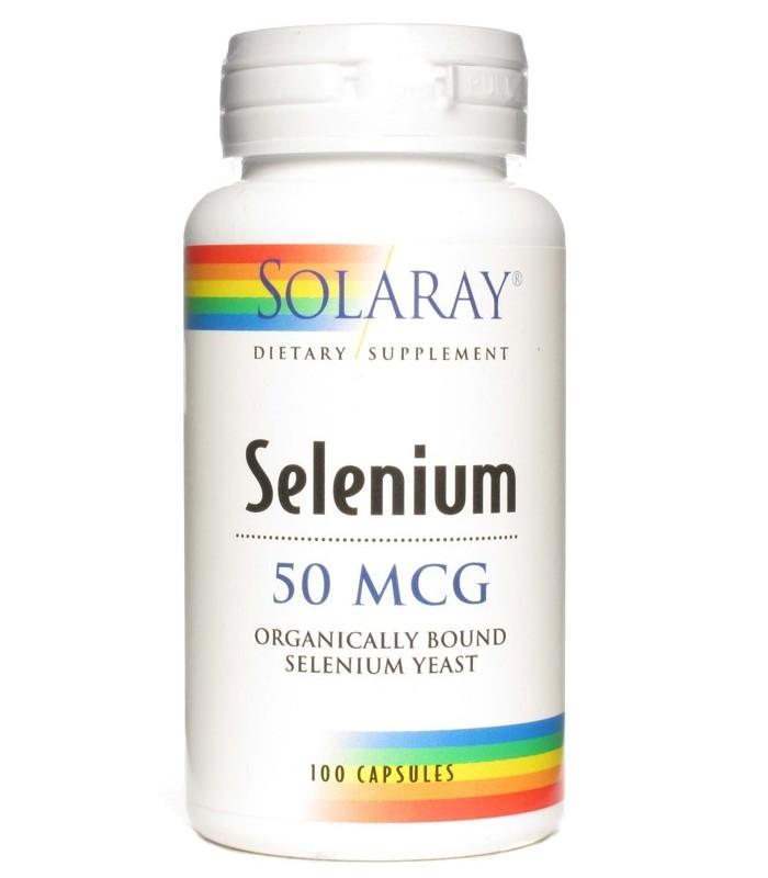 Solaray Selenio 50 Mcg 100 Capsulas