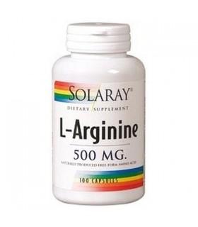 Solaray L-Arginine 100 Capsulas 500 Mg