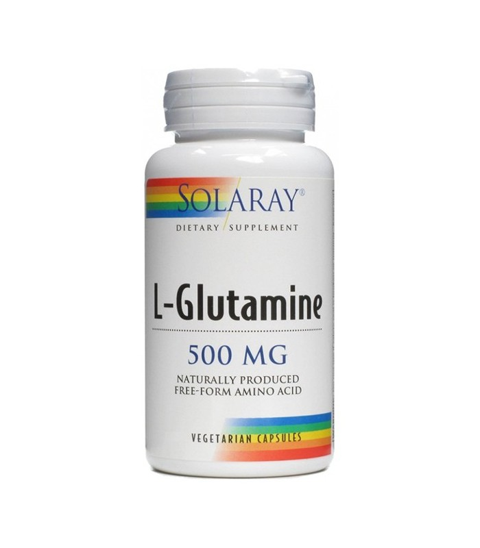 Solaray L-Glutamine 50 Capsulas 500 Mg