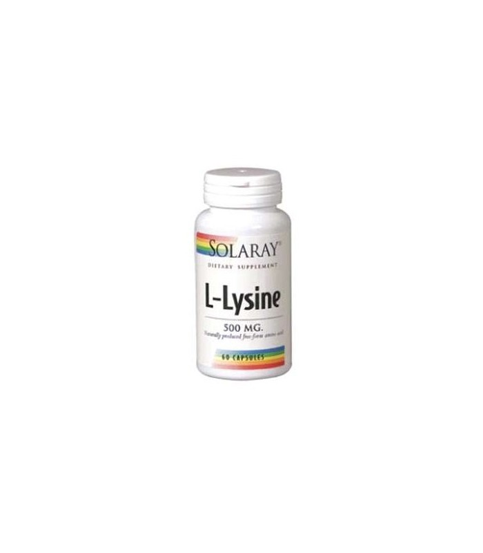 Solaray L-Lysine 50 Mg 60 Capsulas