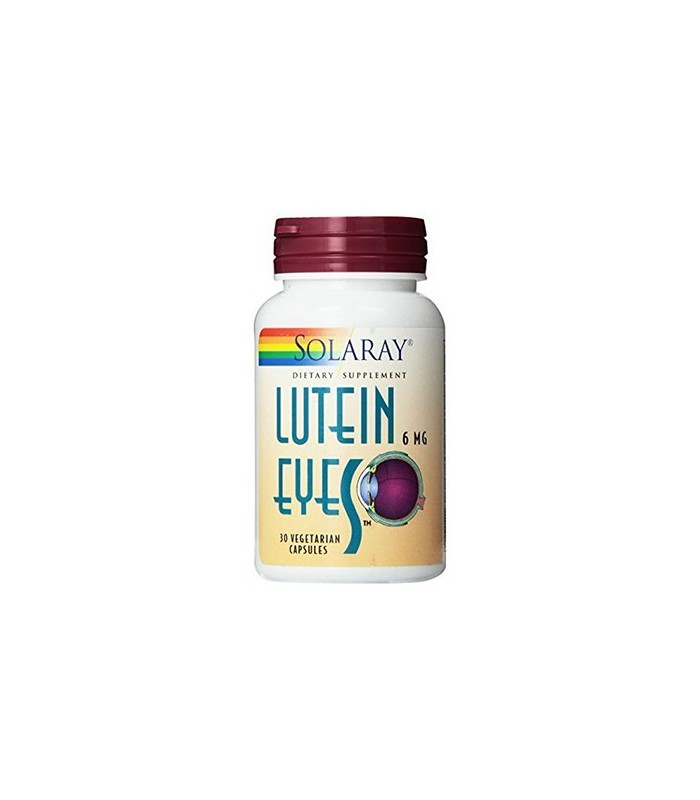 Solaray Luteina Eyes 6 Mg 30 Capsulas