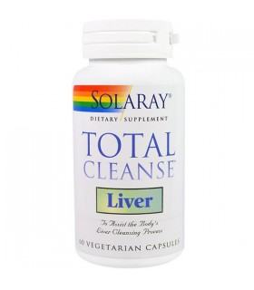 Solaray Total Cleanse Liver 60 Capsulas