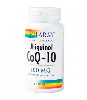 Solaray Coq 10 30 Perlas 100 Mg