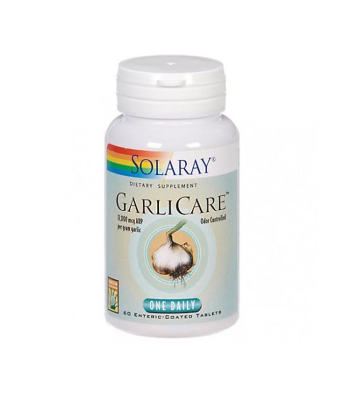 Solaray Garlicare 60 Capsulas