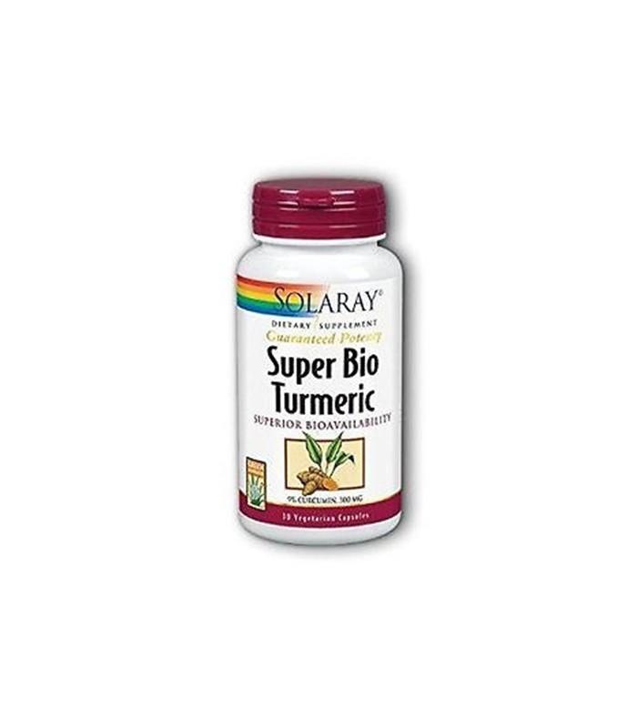 Solaray Super Turmeric 30 Capsulas Vegetales