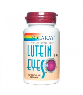 Solaray Luteina Eyes 18 Mg 30 Capsulas