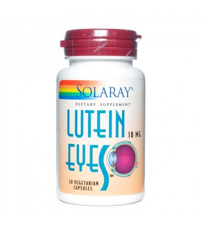 Solaray Luteina Eyes 18 Mg 30 Capsulas