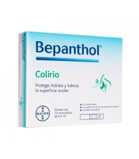 BEPANTHOL COLIRIO ESTERIL MONODOSIS 0.5 ML10 MON