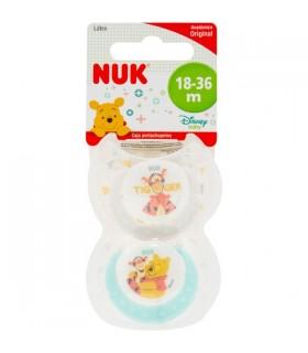 Nuk Chupete Latex Disney 18 A 36 Meses 2 Unidades