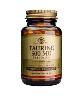 Solgar Taurine 500 Mg 50 Capsulas