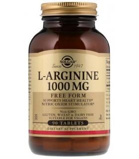 Solgar L-Arginina 1000 Mg 90 Tabletas