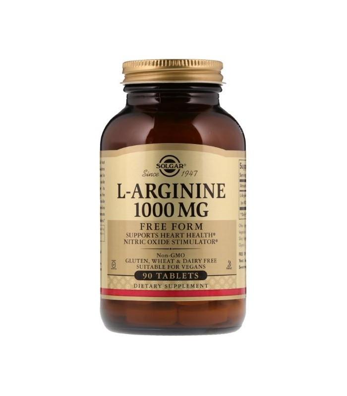 Solgar L-Arginine 1000 Mg 90 Tabletas