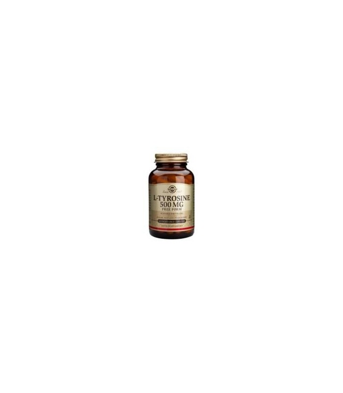 Solgar L- Tirosina 500 Mg 50 Capsulas