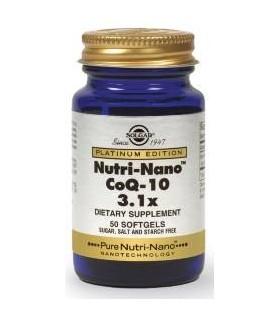 Solgar Nutri-Nano Coq-10 3.1X 50 Capsulas Blandas