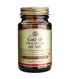 Solgar Coq-10 60 Mg 30 Comprimidos