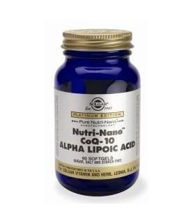 Solgar Nutri-Nano Coq-10 Alpha-Lipoic-Acid 60 Capsulas