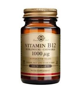 Solgar Vitamina B12 1000 Mg 100 Comprimidos
