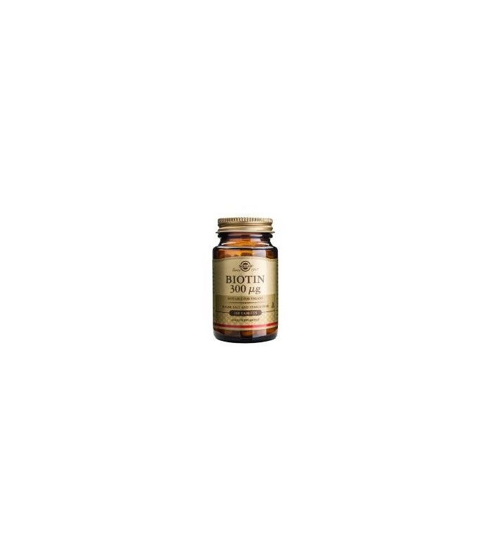 Solgar Biotina 300 Mg 100 Comprimidos